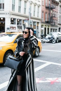 New York Minute :: Striped jacket