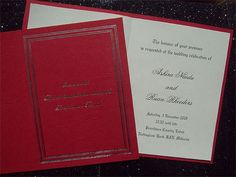 Ref Ruan ( We can do any colour) www.weddingcards.co.za