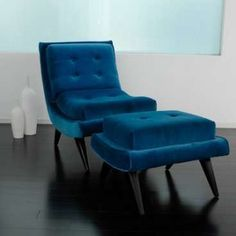 modern blue accent chairs - Google Search