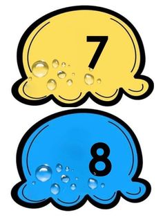 Smurfs, Numbers, Clip Art, Education, Children, Fictional Characters, Spanish Alphabet, Educational Games, Teaching Aids