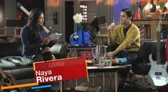 "Yes, it that time of the week when two members of the Glee cast go through rapid fire questions in ""The Glee Lounge"". This week it is Naya Rivera (Santana) and Darren Criss (Blaine ) who  answers quick questions from fans. The topics this week range from  what did you want to grow up ,nick names and have your ever skinny dipped .  Surprising answers!!"