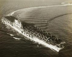 USS Coral Sea CVA-43, ship my grandfather served on.
