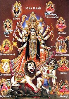 Goddess Durga - Hindu Posters (Reprint on Paper - Unframed) Indian Goddess, Kali Goddess, Mother Goddess, Hindu Kunst, Hindu Art, Maa Durga Image, Durga Maa, Kali Hindu, Maa Durga Hd Wallpaper