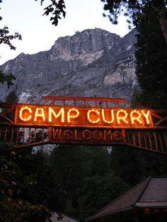 California -- Yosemite National Park -- Camp Curry
