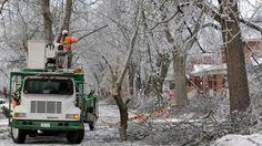 Ontario, tempestade de gelo