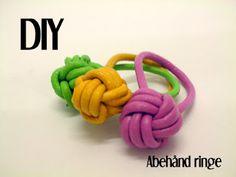 Søster Lystig Blog: DIY knyttede læderringe