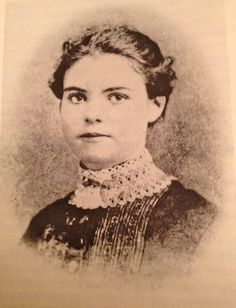 Ida Wright Brown, Laura's school friend from DeSmet, who along with her beau Elmer McConnell, attended Laura and Almanzo's marriage ceremony officiated by Rev. Brown, Ida's adopted father. Later the same year, Ida and Elmer married. Ida died before Laura began writing the Little House books.