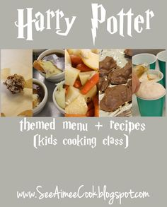 See Aimee Cook: Harry Potter Themed Menu + Recipes (Kids Cooking Class)