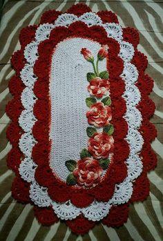 Crochet Table Runner Pattern, Crochet Blanket Patterns, Knitting Patterns, Sewing Patterns, Filet Crochet, Crochet Doilies, Crochet Flowers, Woolen Craft, Tatting Tutorial