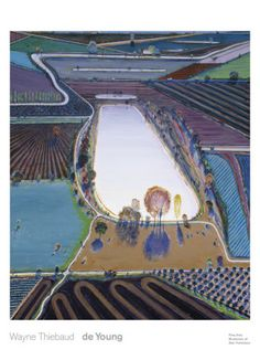 Wayne Thiebaud  Wayne Thiebaud (born November 15, 1920) is an American painter whose most famous works are of cakes, pastries, boots, toilets, toys and lipsticks. He is associated with the Pop art movement because of his interest in objects of mass culture, although his works, executed during the fifties and sixties, slightly predate the works of the classic pop artists.