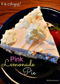 PINK Lemonade Pie HERO