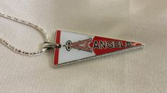 Los Angeles Angels 925 Italian Sterling silver by StonedElements