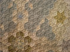 Tokyo Quilt Festival 2014 Diamond Quilt Detail | Flickr - Photo Sharing!