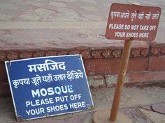 What would you do? (at Taj Mahal, India)