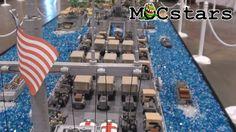MOCStars : Peleliu Invasion Diorama MOC