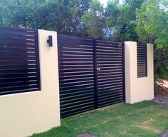 Fence infill panels and rendered front fence