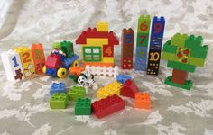 Lego Duplo Play with Numbers (5497), EUC, 50+ pieces, educational #LEGO
