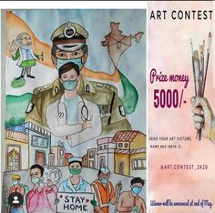 I am participating in art contast. This contast also based on likes . Your one like is important for me so please like the post I heartly request you please 🙏🏻😇 Poster Drawing, Drawing Quotes, Cartoon Sketches, Art Drawings Sketches, Independence Day Drawing, Drawing Competition, Nurse Art, Warrior Drawing, Cute Canvas Paintings