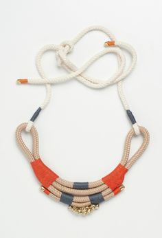 Beige Mali Necklace By Pichulik