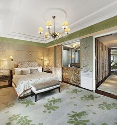 The St. Regis Singapore—Astoria Suite Bedroom