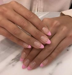 Rounded Acrylic Nails, Bling Acrylic Nails, Classy Acrylic Nails, Square Acrylic Nails, Aycrlic Nails, Summer Acrylic Nails, Hair And Nails, Best Acrylic Nails, Manicure And Pedicure