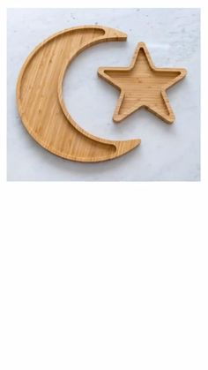 Our Wood Moon and Star Platters are one of our best selling products, be sure to join our email list and be the first to know about restocks and new product launches. #daysofeid