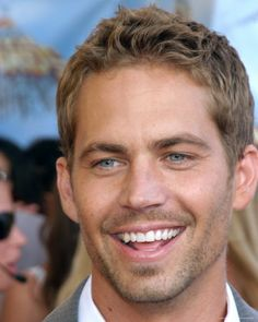 Paul Walker.  Just watched Fast Five and I have to post him again.  I think he is gorgeous and he has a great smile.