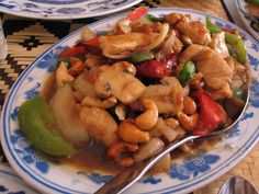 Cashew Chicken: Try our delicious versions of these dishes at Sacramento, CA's Hing's Chinese Restaurant: http://hingsmadison.com/