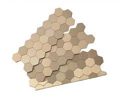 peel-n-stick honeycomb backsplash $16.99