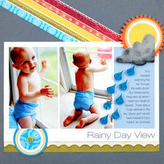 Embellish a Page with Scrapbooking Supply Leftovers