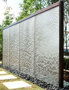 Awesome Outdoor Wall Fountains Ideas Wall-Fountains Bring Tranquility to a Small Garden Outdoor wall fountains. Wall-fountains run the gamut from classical Greek figures and wall mounted gargoyles … Outdoor Wall Fountains, Indoor Water Fountains, Outdoor Walls, Outdoor Living, Indoor Outdoor, Waterfall Landscaping, Indoor Waterfall, Backyard Landscaping, Wall Waterfall