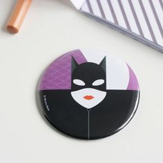 """Espejo – """"Catwoman"""" ARTISTA – El Bicho Bola SERIE – Superheroes"""
