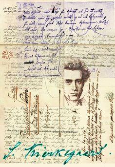 Søren Kierkegaard inspiration collage Notebooks, Journals, Soren Kierkegaard, Tomorrow Is Another Day, Illustration Art, Illustrations, New Poster, Writing Quotes, Mixed Media Collage