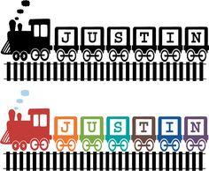 Train decal