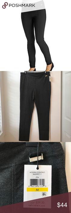 CK Power Stretch pants NWT Awesome Calvin Klein Power Stretch pants. M/L/XL available. Charcoal black color. NWT. Calvin Klein Pants