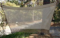 Vintage Taupe Sheer Curtain Panel with by NopalitoVintageMore, $25.00