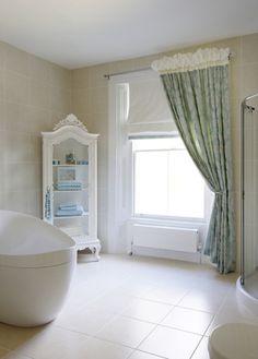 Painting to bathroom in house in Hertfordshire. Beautiful Bathrooms, Bathtub, Decor Ideas, House, Painting, Standing Bath, Bathtubs, Home, Bath Tube