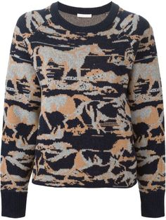 See By Chloé horse intarsia sweater
