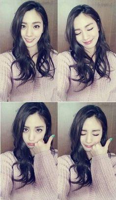 Nana goes on a cute selca spree on her new Instagram | http://www.allkpop.com/article/2014/04/nana-goes-on-a-cute-selca-spree-on-her-new-instagram