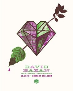 GigPosters.com - David Bazan - Mynabirds, The - Aaron Robinson