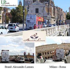 Alessandro Lamura #alessandrolamura #abbigliamento #milano #roma #italia #adv #advertising #pubblicità #pubblicitàinmovimento #bus #upgrade #upgrademedia www.upgrademedia.it