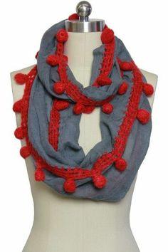 Wool Loop Scarf.