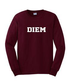 Diem sweatshirt – newgraphictees #sweatshirt #shirt #sweater #womenclothing #menclothing #unisexclothing #clothing #tups