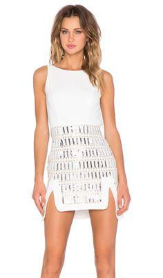 NBD Say Hello Dress in Nude