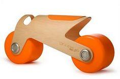 BIT Toddler Bike Orange design inspiration on Fab. Toddler Bike, Kids Bike, Room Interior, Interior Design Living Room, Balance Bike, Ride On Toys, Bike Design, Wood Toys, Concrete Floors