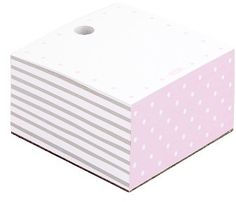 k Notepad Cube - Pink Feminine Office Decor, Page Marker, Kikki K, Planner Layout, Organizing Your Home, Sticky Notes, Simple Living, Getting Organized, Markers