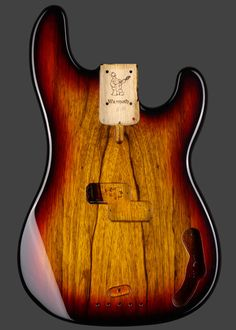 Warmoth Custom Guitar Products - P Bass® Replacement Bass Body