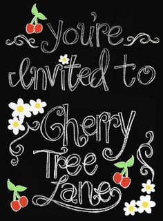 You're invited to Cherry Tree Lane---Design-Dazzle Enter now for a giveaway for a free luncheon in Alpine, Utah.  Mary Poppins Style! madefrompinterest.net is co-hosting!