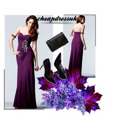 """""""cheapdressuk 40/60"""" by fahreta1992 ❤ liked on Polyvore featuring Yves Saint Laurent"""