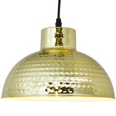 Martilla ceiling brass